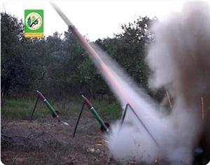 Photo of Qassam Brigades fired 10 missiles at Ashkelon within the last hour