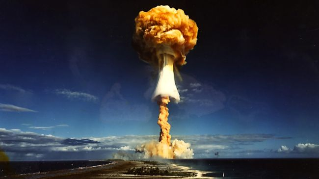 Photo of Nuclear Christmas, false flag in US