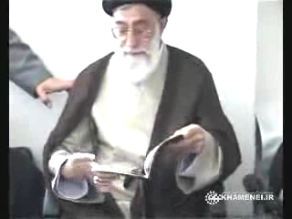 Photo of Video- Imam Khamenei had a surprise visit to wedding house
