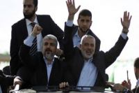 Photo of Meshaal on First-Ever Visit to Gaza: Today Gaza, Tomorrow Al-Quds
