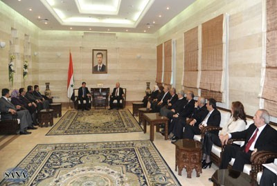 Photo of Syrian PM al-Halqi: Bread, Flour and Heating Oil Shortage Coming to an End