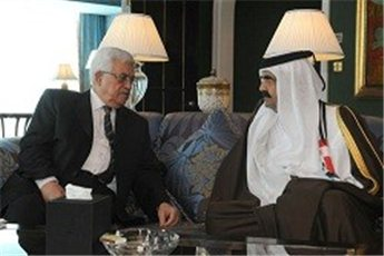 Photo of Abbas meets Treacheorus Qatari emir who gave location of Martyr Jabar to Mossad