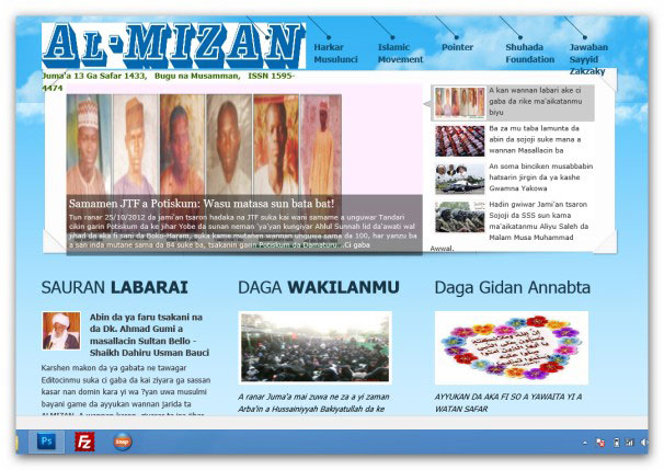 Almizan Newspaper Opens New website