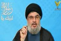"""Photo of Seyyed Nasrallah:""""Certain states gaining from Syria crisis"""""""
