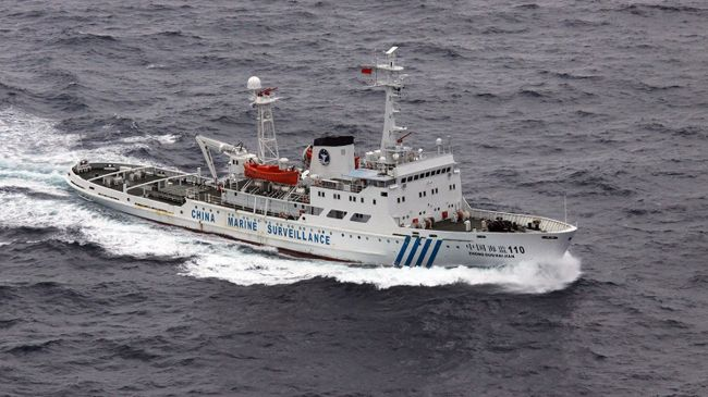 China's ships enter waters around disputed islands