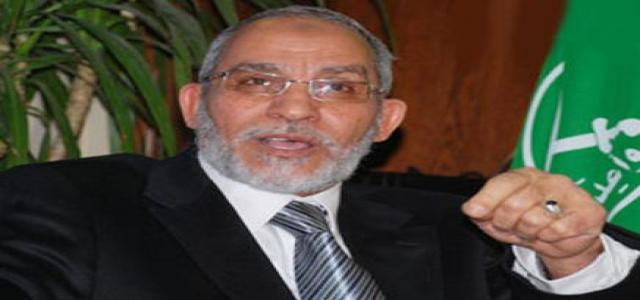 Photo of MB Chairman Congratulates Egyptians on Adoption of New National Charter