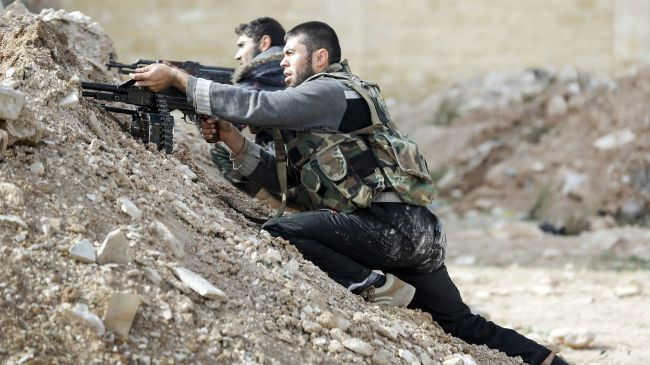 Photo of Clashes erupt near Palestinian refugee camp in Syrian capital