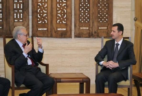 Photo of UN's brahimi holds 'Constructive, Friendly' talks with Assad