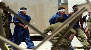 Photo of Palestinian prisoners seeking to win Prisoners of War (POW) status