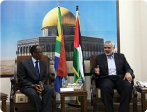 Photo of PM Haneyya confers with South African ambassador on Palestinian developments