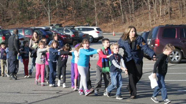 Photo of Mossad death squads slaughtered American children at Sandy Hook