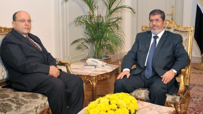 Photo of Egypt's new public prosecutor steps down
