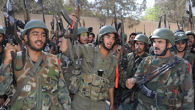 Photo of Military operations for the Syrian Army in Homs and Sweida