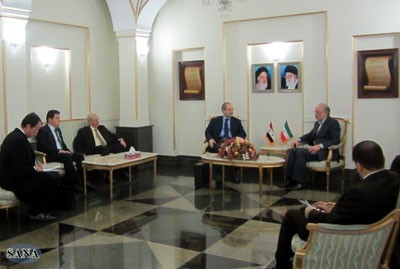 Photo of Al-Mikdad and Salehi Discuss the Developments in Syria and the Region