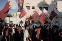 Photo of Bahrainis hold anti-regime demos in Diraz, Sanabis