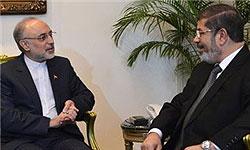 Photo of Iranian FM Meets President Mursi
