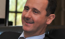 "Photo of Assad saves Syria from plunderers: ""Satisfied"" Assad Says Syrian Army Took Lead"