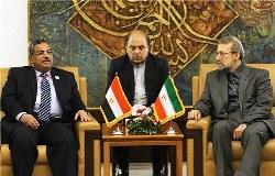 Iran, Egypt Parliament Speakers meet