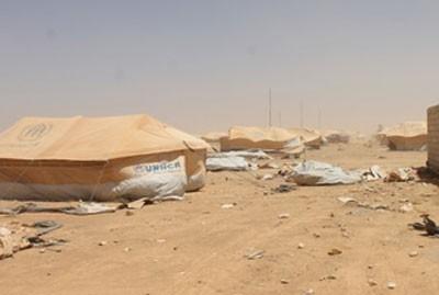 Jordan's al-Zaatari Refugee Camp Return Home