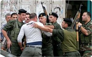 Photo of PA security working with Zionist Entity?