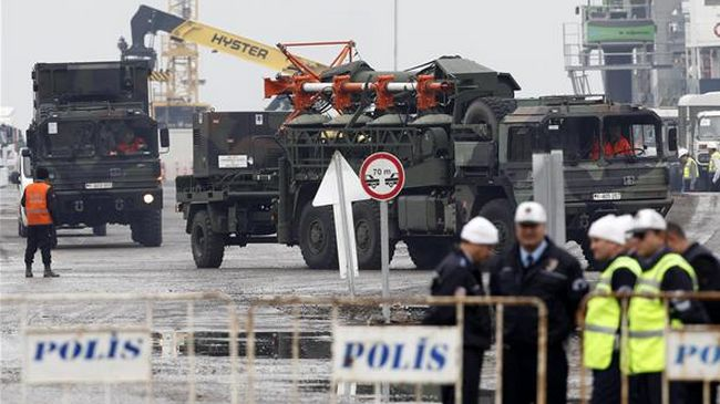 Patriot missiles to be stationed in Turkey's southeast provinces