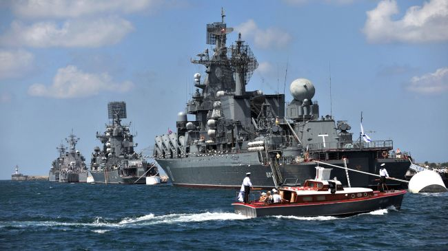 Russia Launches Largest Drills near Syria