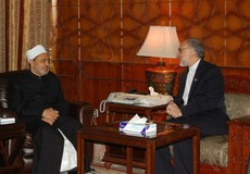 Photo of Salehi Meets Al-Azhar Sheikh: Islamic Unity Major Concern