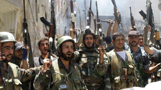 Syria army makes advances against militants