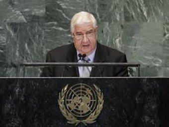 Syria demands UN to condemn the insurgent's criminal acts.