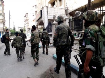 Syrian Army forces target positions of Nusra Front in Aleppo