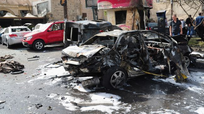 Triple car bombs in Syria leave 24 dead