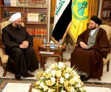 Photo of Sayyed Hakim, Mulla disscuss latest Iraqi developments