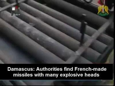 french missile in syria