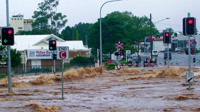 Photo of Three die in floodwaters in Australia's Queensland State