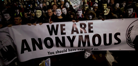 Photo of 'Anonymous' hacks 600,000 zionist israeli email accounts