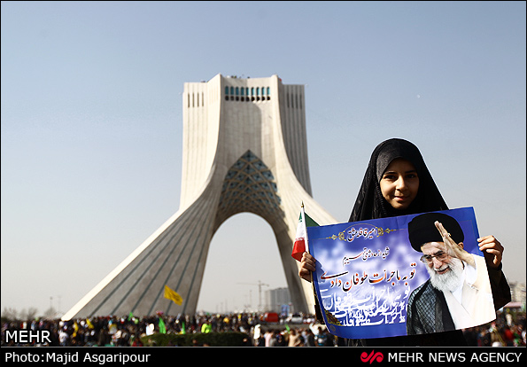 Photo of Iranians stress allegiance to The Leader of Islamic Ummah Imam Sayyed Ali Khamenei