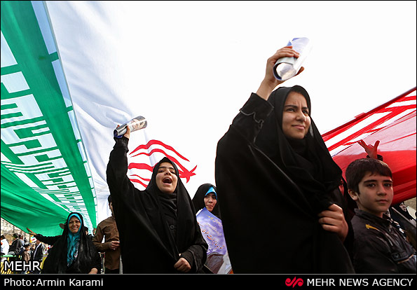 Photo of Photo- Anniversary of Islamic Revolution victory rallies