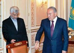 Photo of Iran's top negotiator meets Kazakh president before nuclear talks