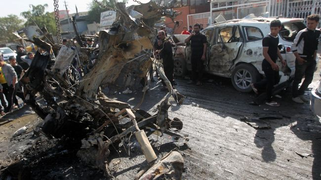 Photo of US-made Al-Qaeda claims responsibility for Baghdad bombings