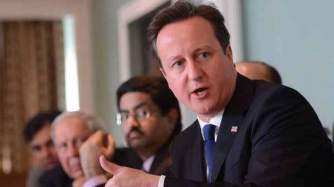 Bribery scandal obscures British PM's India visit