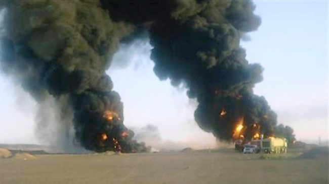 Photo of Explosion hits Yemen's main oil export pipeline