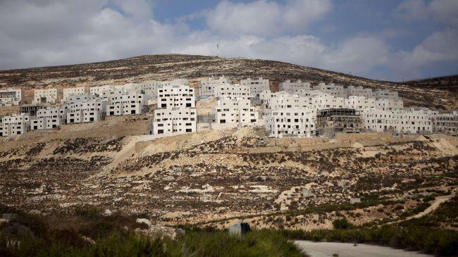 Israel begins building on Palestinian land