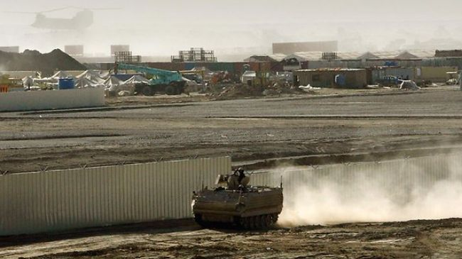 Photo of Rocket attack damages US-led base in southern Afghanistan