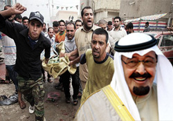 Saudi Arabia, main supporter of terrorism