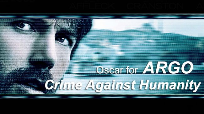 Photo of Oscar for Argo: A crime against humanity