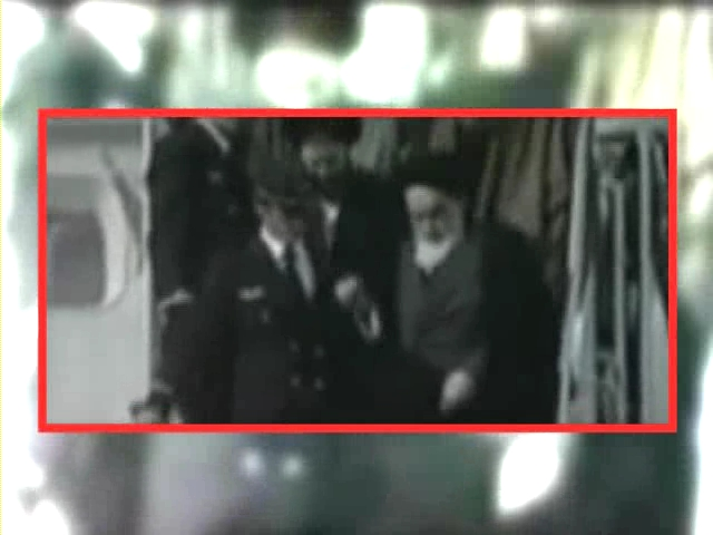 Photo of Video- Return of Great Leader to Iran