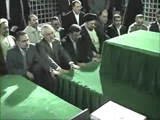 Photo of Video- Iranian high ranking officials pay tribute to Imam Khomeini r.a