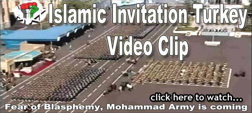 Photo of Video Clip – Fear of Blasphemy, Mohammed Army is coming – Islamic Invitation Turkey