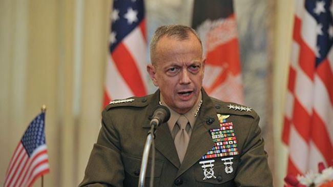 Photo of Former top US commander in Afghanistan to refuse NATO post
