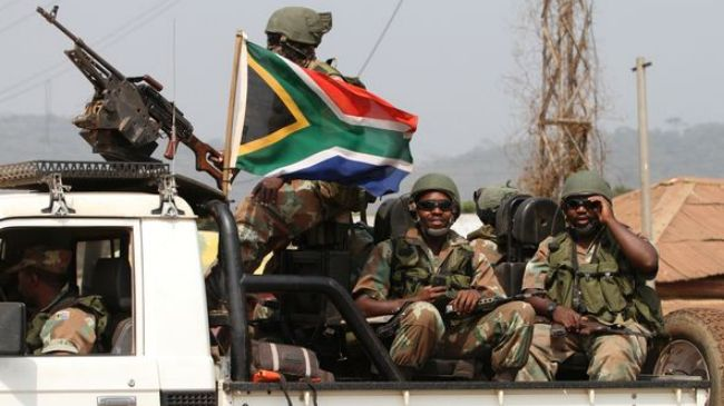 Photo of Several S African soldiers killed in CAR capital